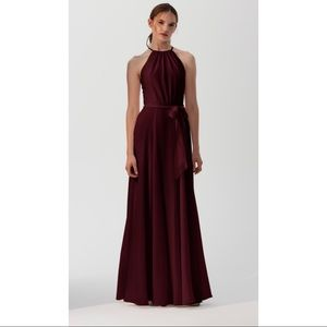 Amsale Kyra GB060F Ruby Bridesmaid Dress